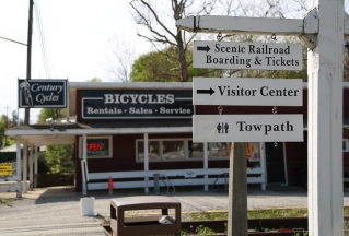 There are plenty of bike shops along the Towpath Trail.