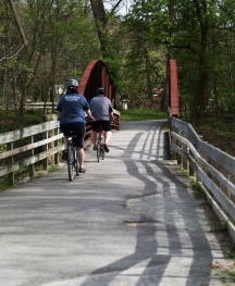 It'll be a smooth ride on the well-maintained Towpath.