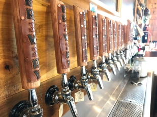 Brewery 33 offers a variety of handcrafted beers.