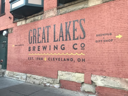Closeby to the Cuyahoga River sits the Great Lakes Brewing Company.