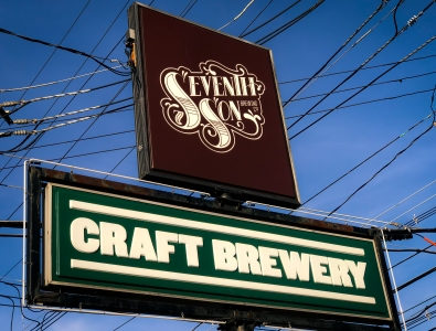 Located in the Italian Village area of Columbus, Seventh Son Brewing is a quiet getaway on loud downtown nights.