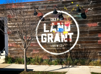 Right off the Scioto River in the Franklinton area proudly stands the Land Grant Brewing Company. They're also located in the John Glenn International Airport, because, why not?