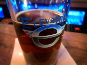 2-3 monthly or seasonal selections and 12-13 handcrafted beers always on tap is part of the theme of Elevator Brewing.