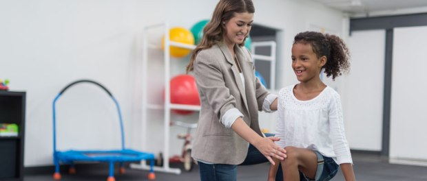 augmented reality to make physical therapy fun for kids